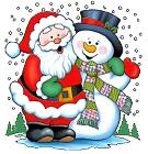 Новогодние игры с Дед Морозом и Снегурочкой