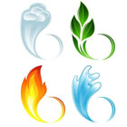 Земля, воздух, огонь, вода
