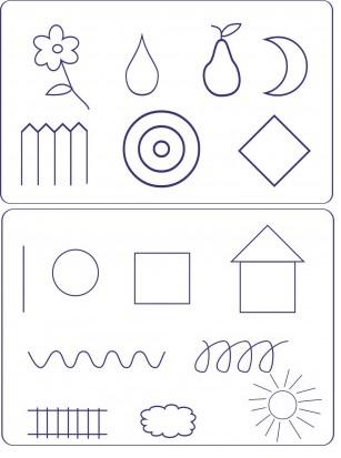 Варианты рисунков на на крупе