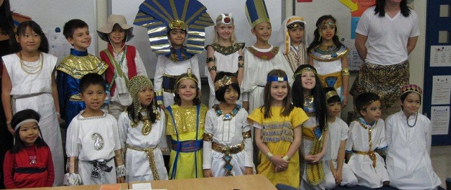 Детский день рождения в египетском стиле