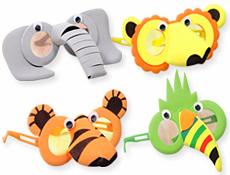 маски с изображениями животных