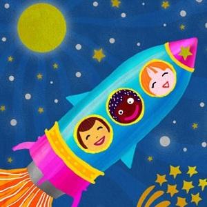 Детский праздник в космосе