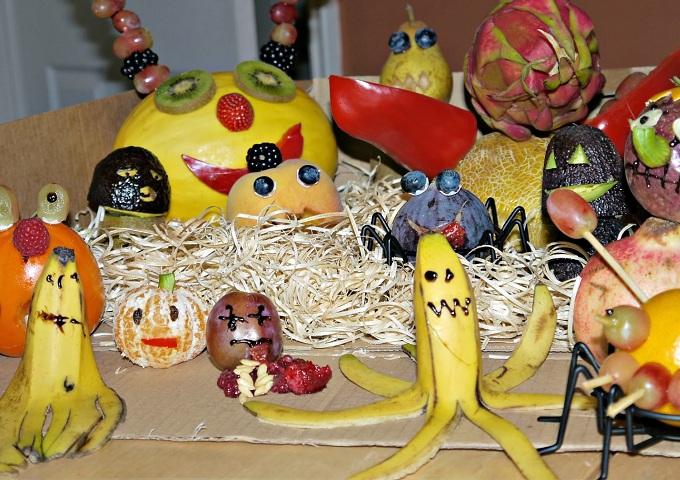Необычные блюда из фруктов на день рождения