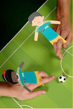 Футбол пальцами
