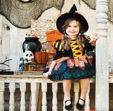 Подготовка к детскому хэллоуину
