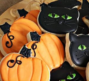 """""""Страшное печенье"""" на Хеллоуин"""