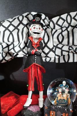 страшный персонаж - скелет