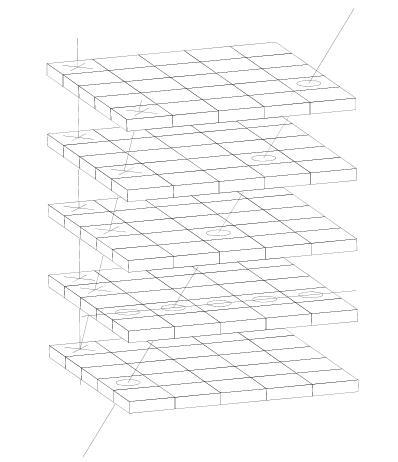 Поле для крестиков - ноликов 3D