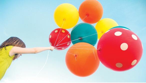 Конкурсы и игры с воздушными шарами