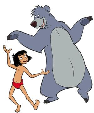 Маугли и Балу