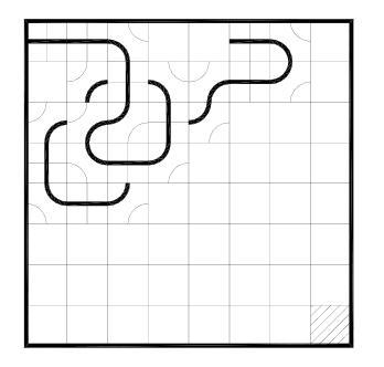 Пример партии в игре Блэк